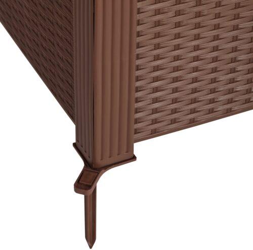 Beetumrandung Rattan LxH:99x29cm Set B10052811 UVP 29,99€ | 10052811 3