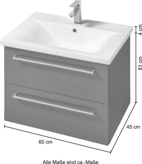 welltime Waschtisch Torino Breite 60cm B10128451 ehemalige UVP 599,99€   10128451 7