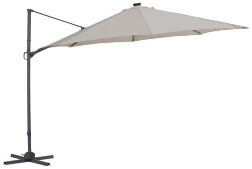 garten gut Ampelschirm Marbella mit Solarbetriebener LED Beleuchtung B10302545 ehemalige UVP 249,99€ | 10302545 1