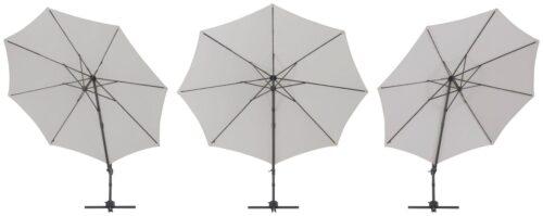 garten gut Ampelschirm Marbella mit Solarbetriebener LED Beleuchtung B10302545 ehemalige UVP 249,99€ | 10302545 3