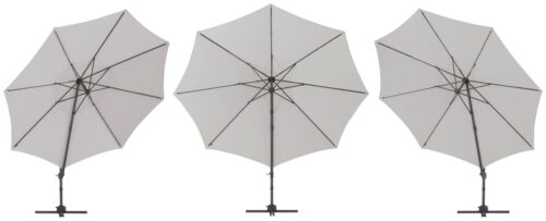 garten gut Ampelschirm Marbella mit Solarbetriebener LED Beleuchtung B10302545 ehemalige UVP 249,99€ | 10302545 4