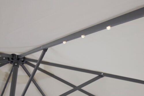 garten gut Ampelschirm Marbella mit Solarbetriebener LED Beleuchtung B10302545 ehemalige UVP 249,99€ | 10302545 8