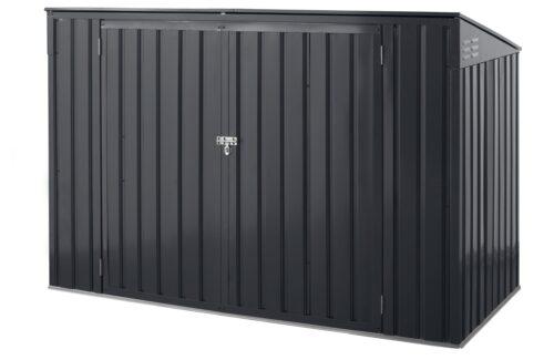 KONIFERA Mülltonnenbox Polly B für 2x240l aus Metall BxTxH:172x100x131cm B10549229 UVP 199,99€ | 10549229 1