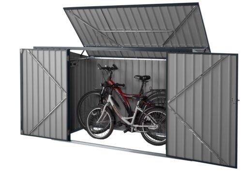 KONIFERA Mülltonnenbox Polly B für 2x240l aus Metall BxTxH:172x100x131cm B10549229 UVP 199,99€ | 10549229 2