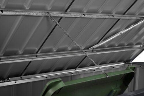 KONIFERA Mülltonnenbox Polly B für 2x240l aus Metall BxTxH:172x100x131cm B10549229 UVP 199,99€ | 10549229 7