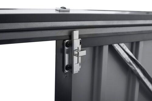 KONIFERA Mülltonnenbox Polly B für 2x240l aus Metall BxTxH:172x100x131cm B10549229 UVP 199,99€ | 10549229 8