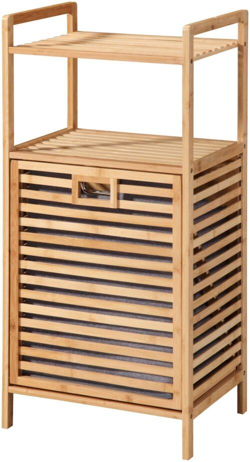 welltime Wäschetruhe Panama mit Ablage aus Bambus B11207608 UVP 89,99€ | 11207608 1