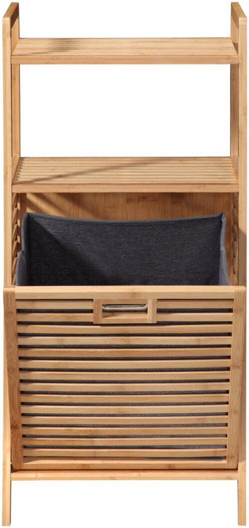 welltime Wäschetruhe Panama mit Ablage aus Bambus B11207608 UVP 89,99€ | 11207608 2