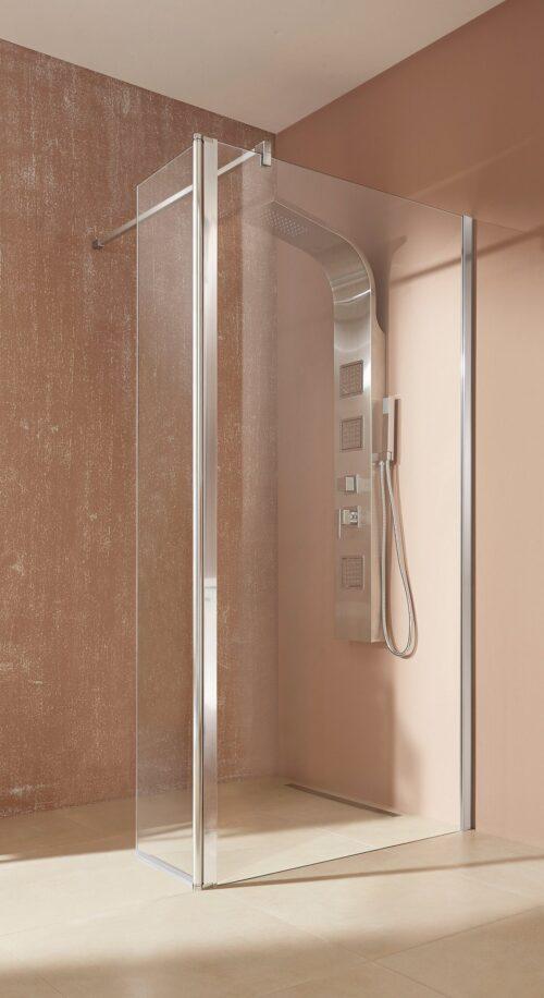welltime Walk-in-Dusche Mailand Einscheibensicherheitsglas Breite 100cm B11271353 ehemalige UVP 239,99€ | 11271353 2