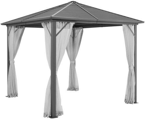 KONIFERA Seitenteile Pavillon Barbados BxL:300x300cm 4 Moskitonetze B11382123 UVP 69,99€ | 113 2