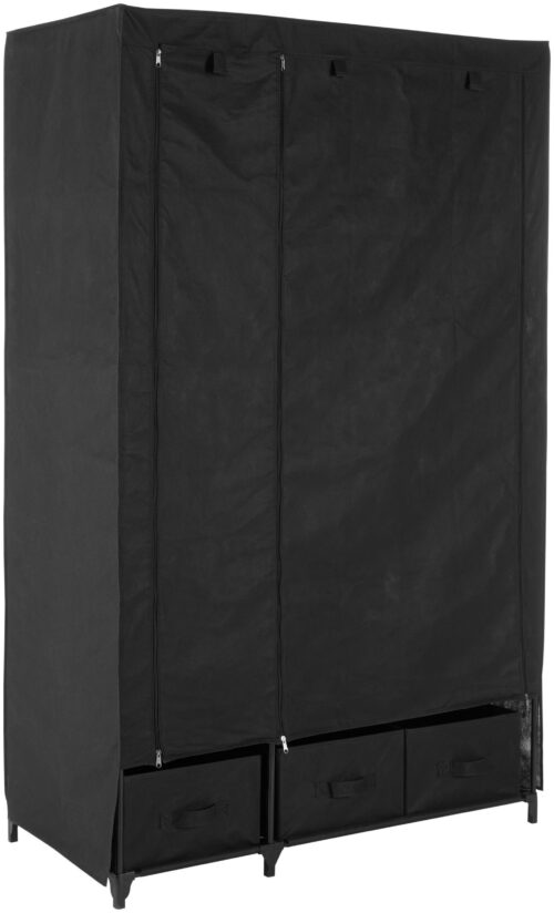 Kleiderschrank aus Vlies Breite 110cm acht Ablagen als Stauraum & Garderobenstang B11768619 UVP 64,99€ | 11768619 1