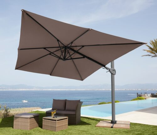 garten gut Sonnenschirm Big Roma LxB:400x300cm ohne Schirmständer neigbar B12052757 UVP 399,99€ | 12052757 1