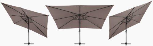 garten gut Sonnenschirm Big Roma LxB:400x300cm ohne Schirmständer neigbar B12052757 UVP 399,99€ | 12052757 5