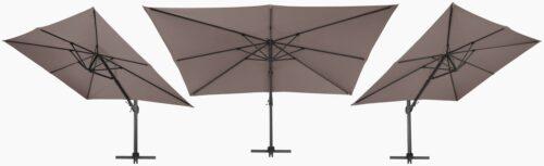 garten gut Sonnenschirm Big Roma LxB:400x300cm ohne Schirmständer neigbar B12052757 UVP 399,99€ | 12052757 6