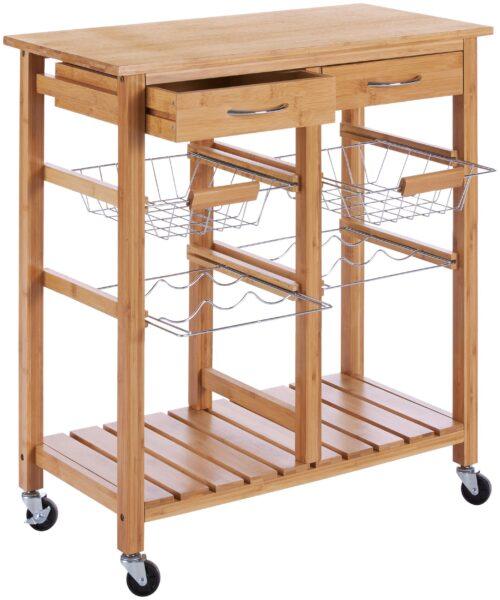 Küchenwagen Bambus (1 St) 72x37x78cm B13290325 UVP 92,99€ | 13290325 1
