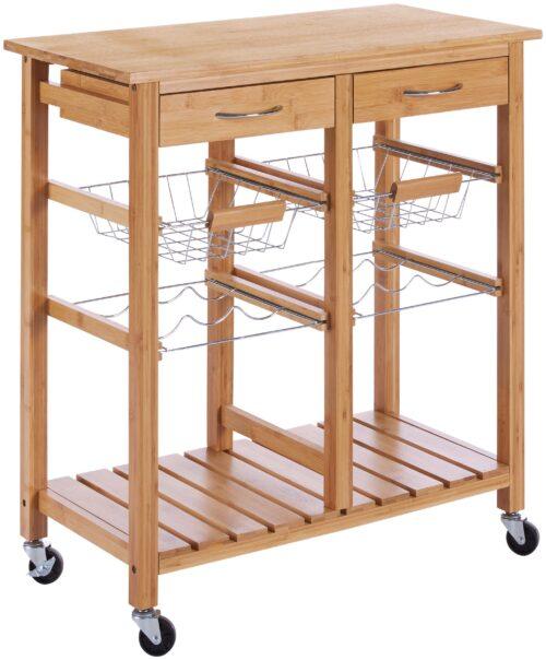 Küchenwagen Bambus (1 St) 72x37x78cm B13290325 UVP 92,99€ | 13290325 2