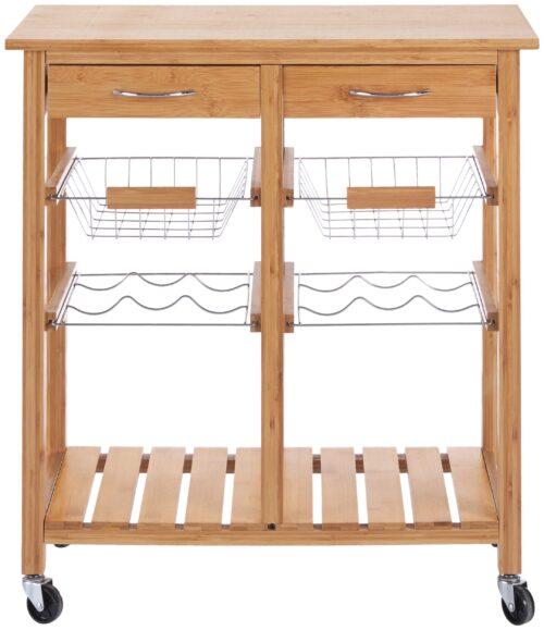 Küchenwagen Bambus (1 St) 72x37x78cm B13290325 UVP 92,99€ | 13290325 3