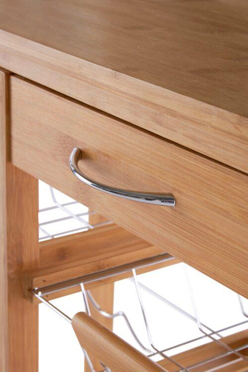 Küchenwagen Bambus (1 St) 72x37x78cm B13290325 UVP 92,99€ | 13290325 4
