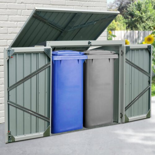 KONIFERA Mülltonnenbox B Ware!! Tobi 2 für2x240l BxTxH:158x134x101cm B13743067 UVP 179,99€ | 13743067 1