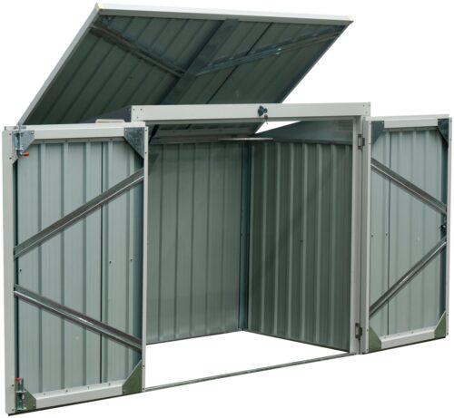 KONIFERA Mülltonnenbox B Ware!! Tobi 2 für2x240l BxTxH:158x134x101cm B13743067 UVP 179,99€ | 13743067 4