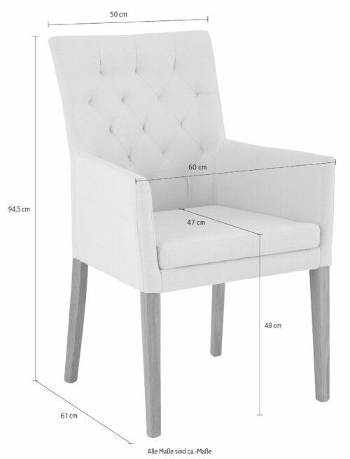 Home affaire 4-Fußstuhl Stuhl Sessel Colorado B144531 UVP 214,99€   144531 6
