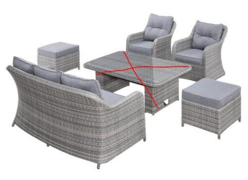 KONIFERA Loungeset Lombok B WARE!!! (16-tlg) Tisch ausgetauscht B18842850 UVP 1199,99€ | 14497643 ohne Tisch.JPG 1