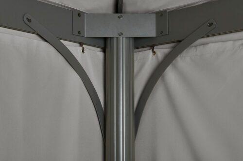 KONIFERA Pavillon 3x4m mit Seitenteilen Murano B15405500 ehemalige UVP 399,99€ | 15405500 3