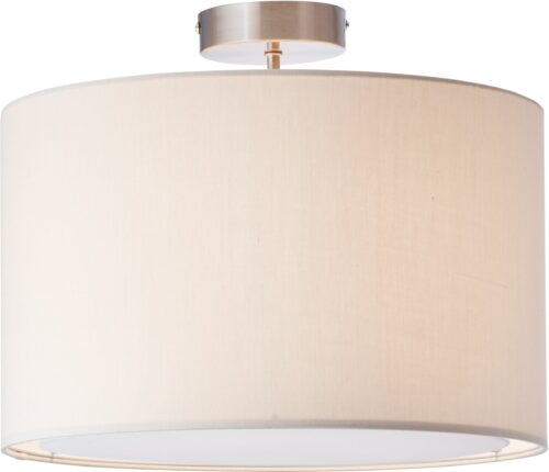 Lüttenhütt Deckenleuchte Lüchte Deckenlampe mit Stoffschirm beige Ø 40cm Höhe 32cm B11751301 UVP 59,99€ | 1751301 2