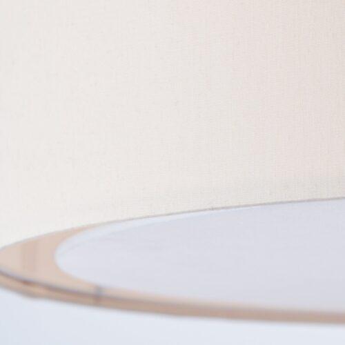 Lüttenhütt Deckenleuchte Lüchte Deckenlampe mit Stoffschirm beige Ø 40cm Höhe 32cm B11751301 UVP 59,99€ | 1751301 4