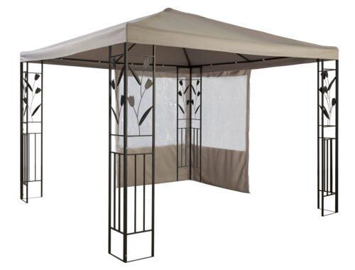 KONIFERA Pavillonseitenteile mit 2 Seitenteilen Pavillon Modern & Tulip 300x300cm B18780203 UVP 39,99€ | 18780203 2