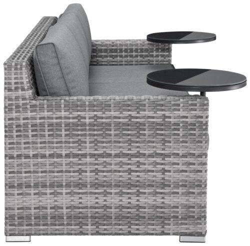 KONIFERA Loungeset Ibiza B Ware!! Gartenmöbel Polyrattan/Alu BB22397320 UVP 599,99€ | 22397320 6