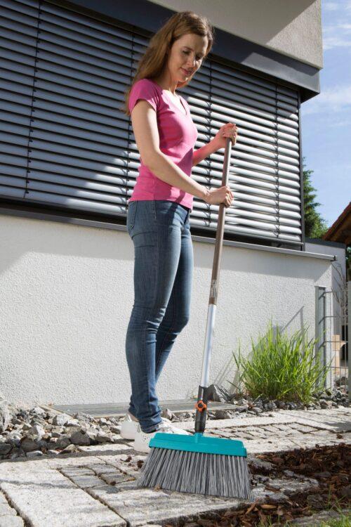 GARDENA Straßenbesen Terrassenbesen combisystem 32cm Arbeitsbreite B23392236 UVP 20,51€   23392236 2