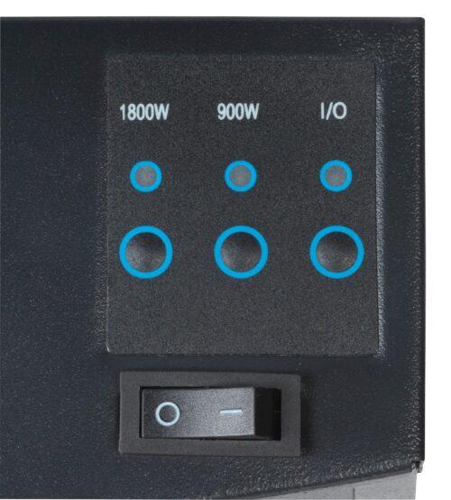 Heathus Elektrokamin Örebo 1800W B/T/H:66x15x52cm Fernbedienung B23765001 UVP 126,71€ | 2376500 5