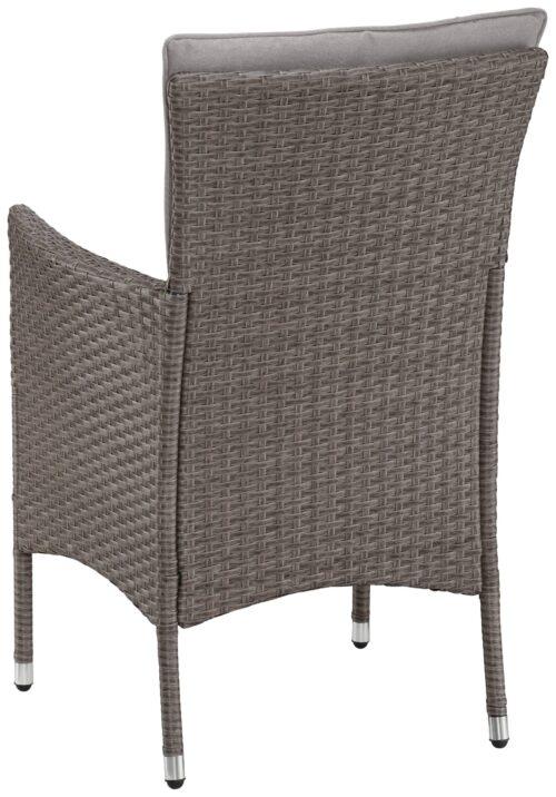 KONIFERA Gartenmöbelset Mailand 4 Sessel OHNE Rückenkissen B24099830S | 24099830S.2