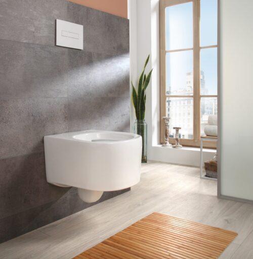 welltime Tiefspül-WC New Trento Toilette ohne Sitz spülrandlos Tiefspüler B24654320 UVP 149,99€   24654320 2