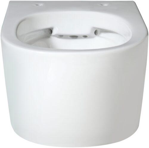 welltime Tiefspül-WC New Trento Toilette ohne Sitz spülrandlos Tiefspüler B24654320 UVP 149,99€   24654320 3