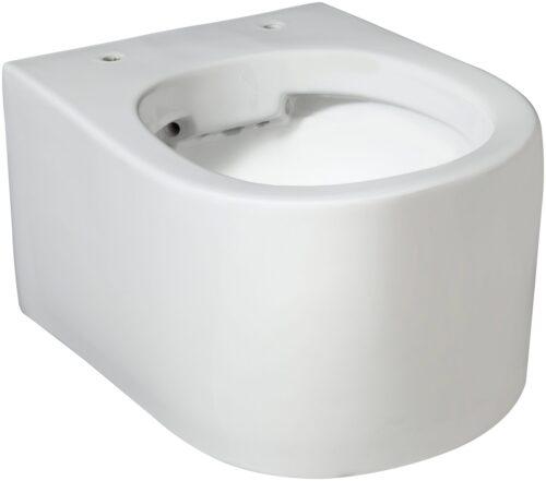 welltime Tiefspül-WC New Trento Toilette ohne Sitz spülrandlos Tiefspüler B24654320 UVP 149,99€   24654320 4