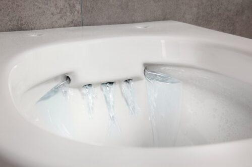 welltime Tiefspül-WC New Trento Toilette ohne Sitz spülrandlos Tiefspüler B24654320 UVP 149,99€   24654320 7