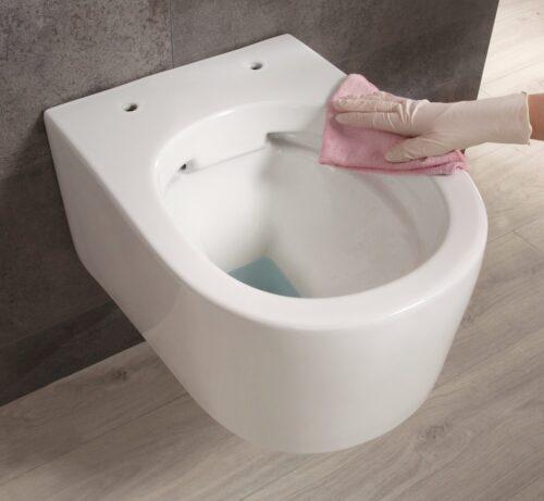 welltime Tiefspül-WC New Trento Toilette ohne Sitz spülrandlos Tiefspüler B24654320 UVP 149,99€   24654320 8
