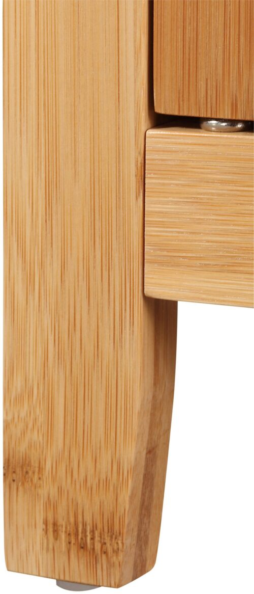 welltime Waschbeckenunterschrank Bambus Badmöbel mit Siphonausschnitt Breite 67cm B25220522 UVP 99,99€ | 25220522 3