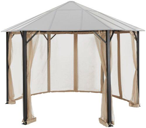 KONIFERA Pavillonseitenteile passend für Costa Brava für 350x350 cm beige B25432930 UVP 69,99 | 25432930 1