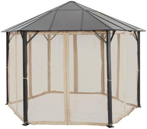 KONIFERA Pavillonseitenteile passend für Costa Brava für 350x350 cm beige B25432930 UVP 69,99 | 25432930 3