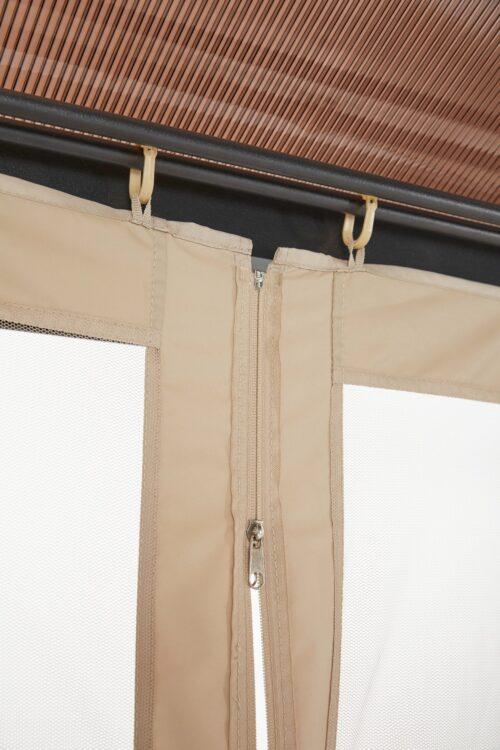 KONIFERA Pavillonseitenteile passend für Costa Brava für 350x350 cm beige B25432930 UVP 69,99 | 25432930 5