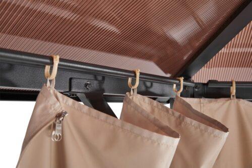 KONIFERA Pavillonseitenteile passend für Costa Brava für 350x350 cm beige B25432930 UVP 69,99 | 25432930 6