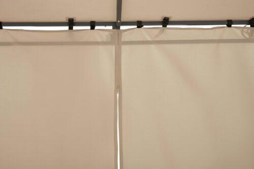 KONIFERA Anbaupavillon Burano BxLxH:400x250x250/205cm B26416854/23874807 UVP 199,99€ | 26416854 5 1
