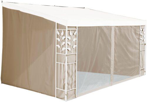 KONIFERA Seitenteile B Ware ! für 3x4m Anbaupavillon Salina 2 sandfarben B27207963 UVP 89,99€   27207963 1