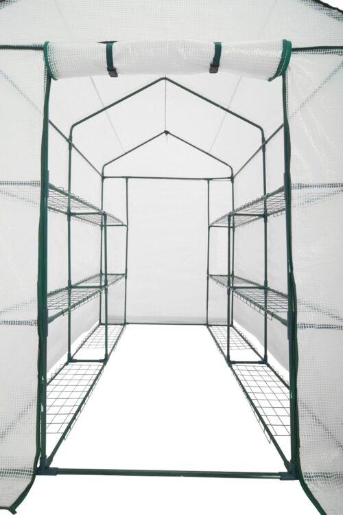 KONIFERA Folien-Gewächshaus BxTxH:140x140x200cm B27611600 UVP 59,99€ | 27611600 3