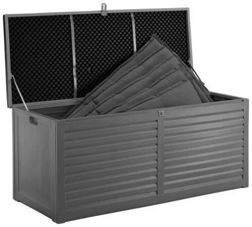 GARTENGUT Auflagenbox 146,6x64,4x61cm hellgrau B27866214 UVP 109,99€ | 27866214 3