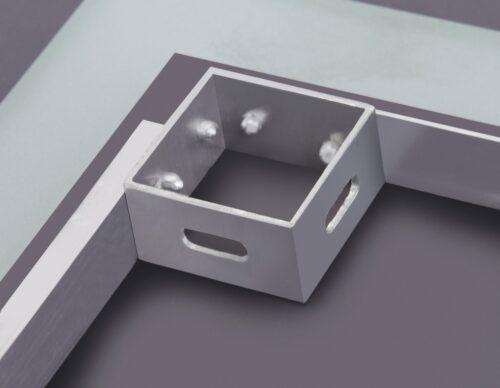 welltime Badspiegel Trento LED-Spiegel 80x60cm B27991209 UVP 149,99€ | 27991209 4