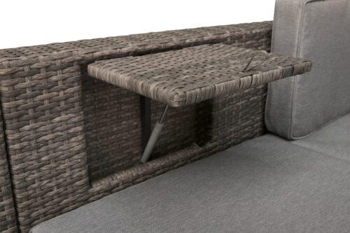 KONIFERA Loungeset Lagos Premium 3er-Sofa 3 Hocker B28364946 ohne Tisch | 28364946 4